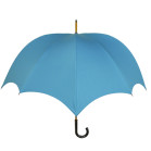 Grande Men's Pumpkin umbrella Amalfi Blue