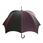 Grande Men's Pumpkin umbrella Black & Dark Purple