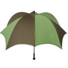 DiCesare Pumpkinbrella Green & Brown Umbrella