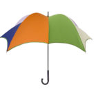DiCesare Pumpkinbrella Penta Umbrella - Wood Handle