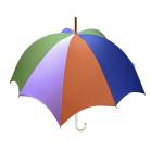 Rhythm Pumpkin Umbrella Penta Dawn
