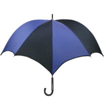 DiCesare Pumpkinbrella umbrella Navy & Black - Wood Handle