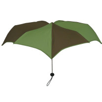 Pumpkinbrella SuperMini 2tone Green & Brown