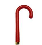 DiCesare Pumpkinbrella Red Leather Handle